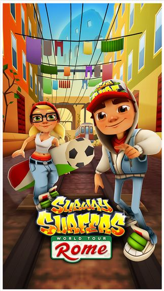 Subway Surfers Rome modded apk