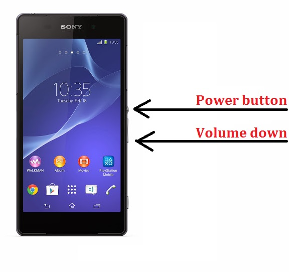 How-to-screenshot-on-the-Sony-Xperia-Z2