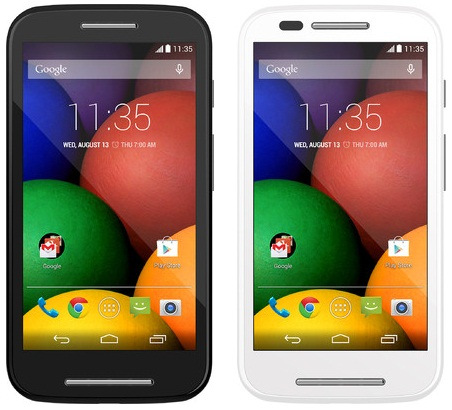 How to take Screenshot on Moto E black and white Unlock Bootloder on Moto E