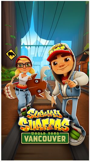 Subway Surfers Vancouver modded apk