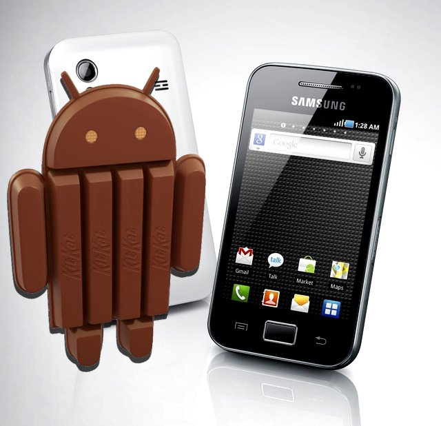 Update Galaxy Ace 2 to Android 4.4.2 Kitkat