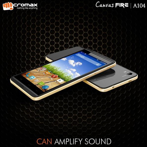 Micromax Canvas Fire A104