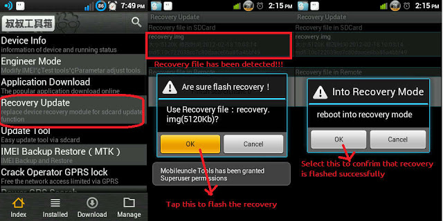 TWRP Recovery on Lenovo P770