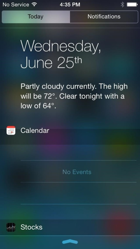 Install iOS 8 Notification Centre on iOS 7 using Notific8