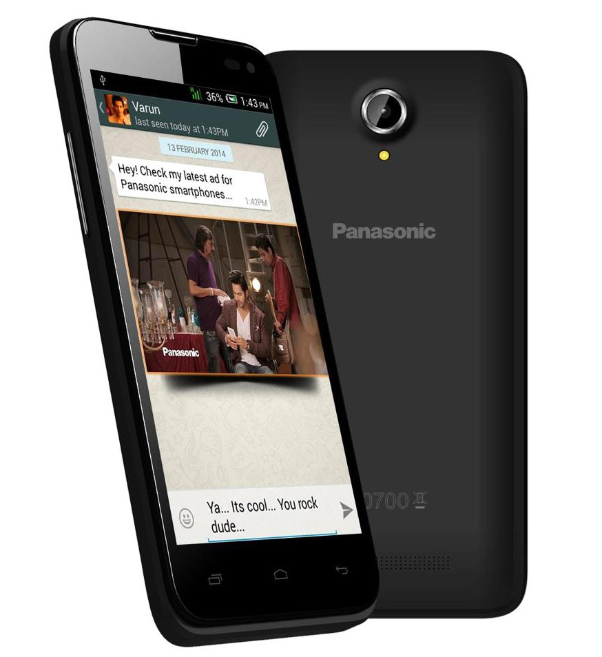 Panasonic-T41 Smartphone goes on sale