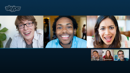 Skype free group video calling on windows