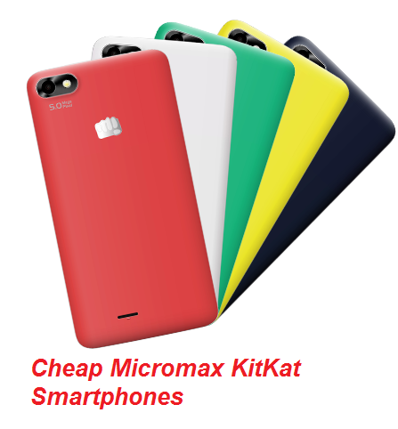 micromax cheap android smartphones