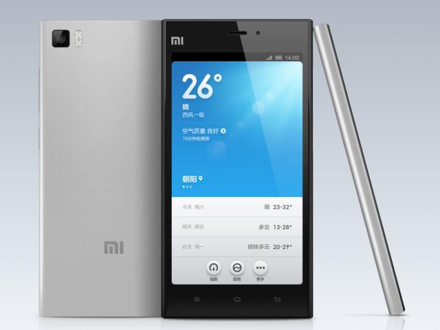 take screenshot on Xiaomi Mi3