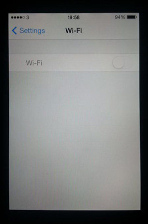 fix Wi-Fi options grayed out issue on your iPhone or iPad