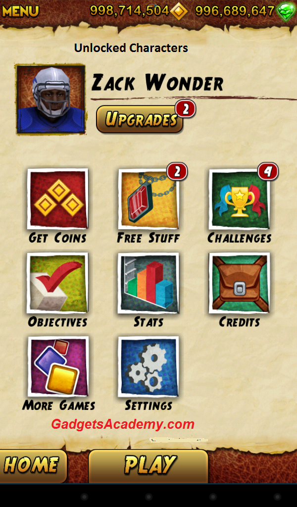temple run 2 cheats android