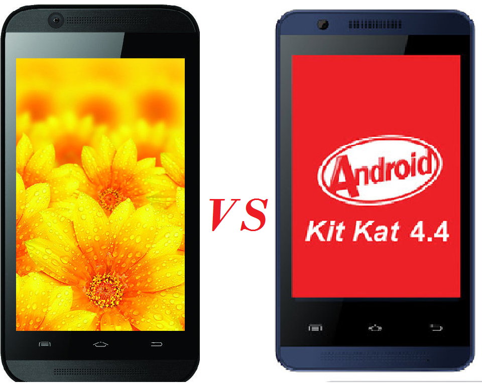 Celkon Campus A35K vs Intex aqua 4x comparison