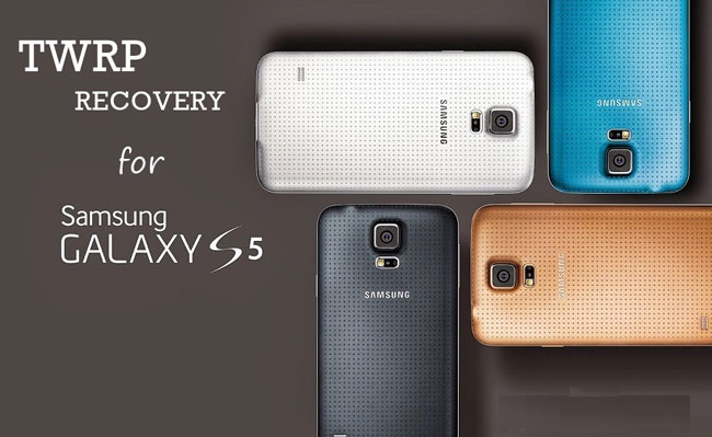 TWRP Recovery on Galaxy S5