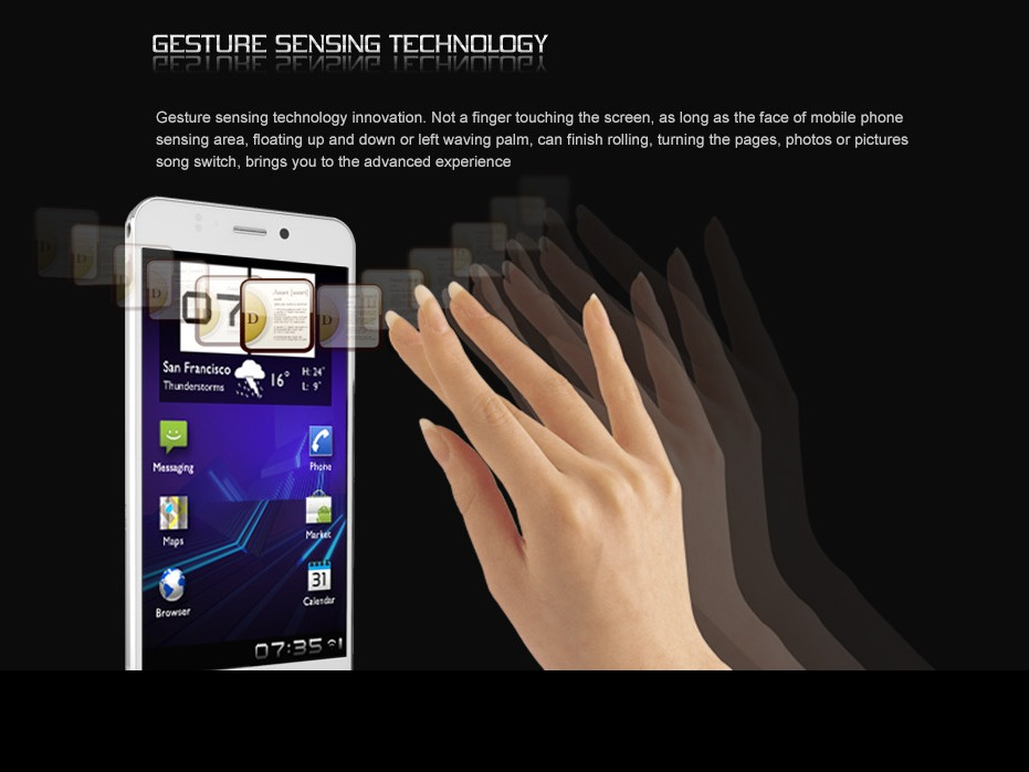 VAYOKI S52 (Gesture Sensing)