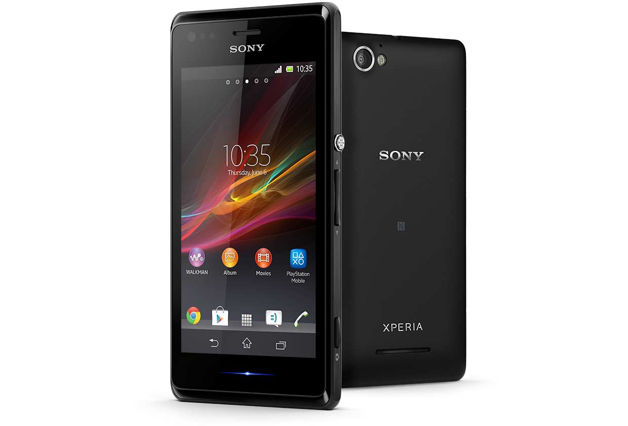 Xperia M not getting android kitkat update