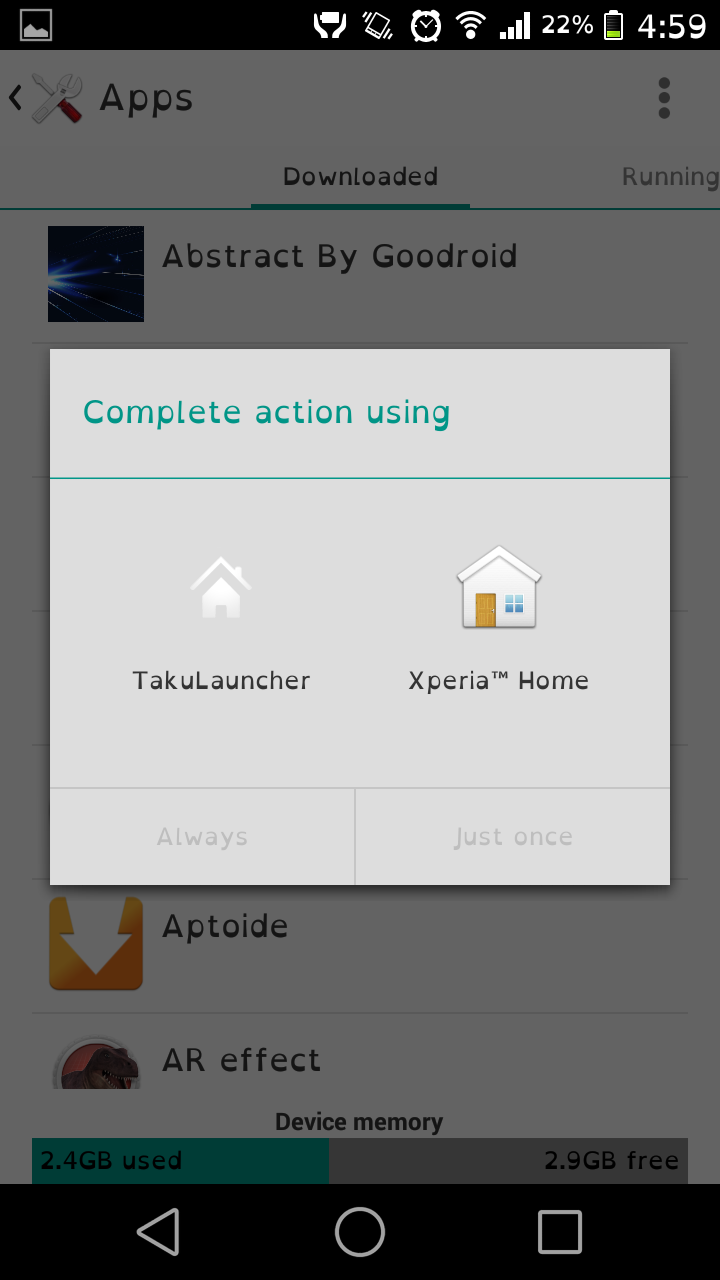 Xperia Z3 Home Launcher