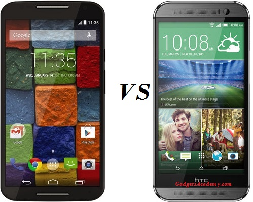 Moto X 2014 (2nd Gen) and HTC One M8