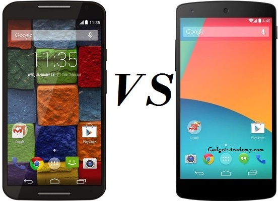 Moto X 2014 (2nd Gen) vs LG Nexus 5