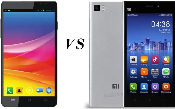 Mmx canvas nitro A310 vs Xiaomi Mi3