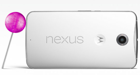Motorola Nexus 6 lollipop 1