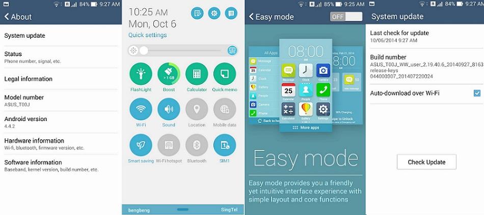 Asus Zenfone 5 KitKat update 2