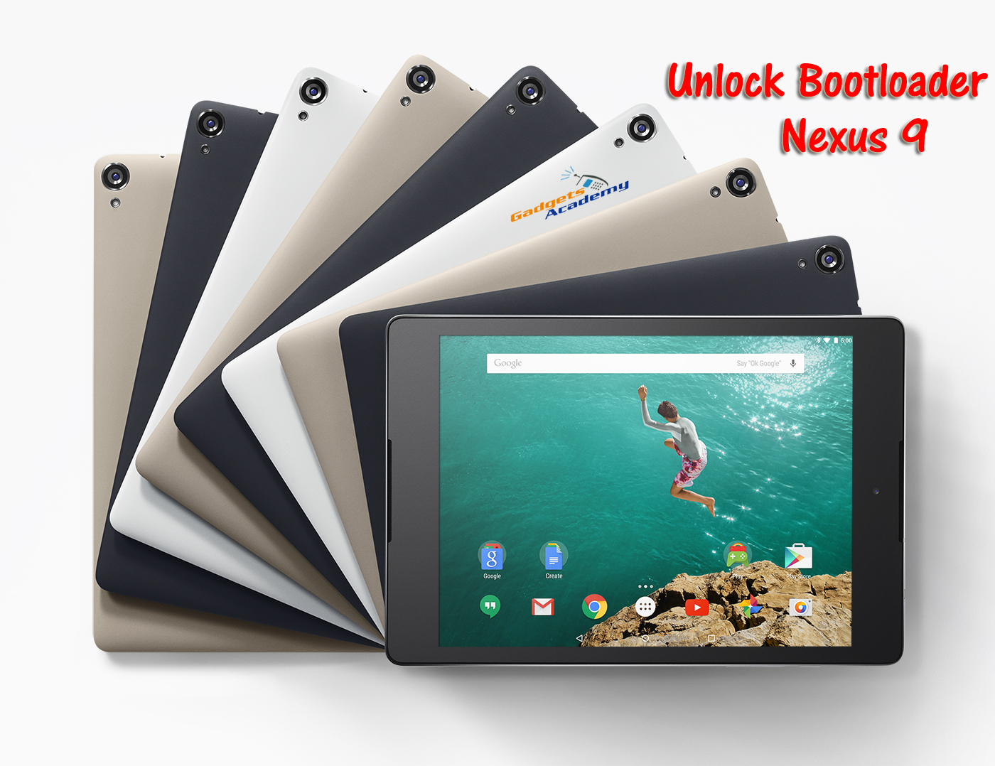 Unlock Bootloader on Nexus 9