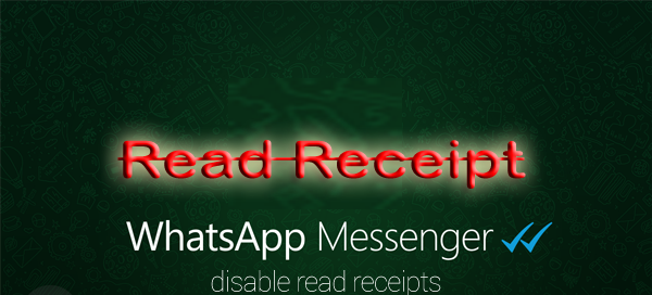 Disable WhatsApp Read Receipt