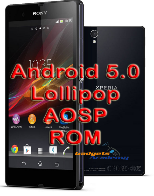 Update Xperia Z to Android 5.0 Lollipop