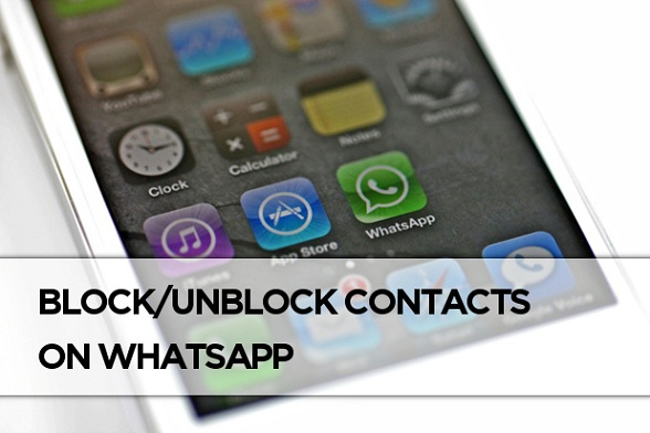 Block/Unblock WhatsApp Contacts