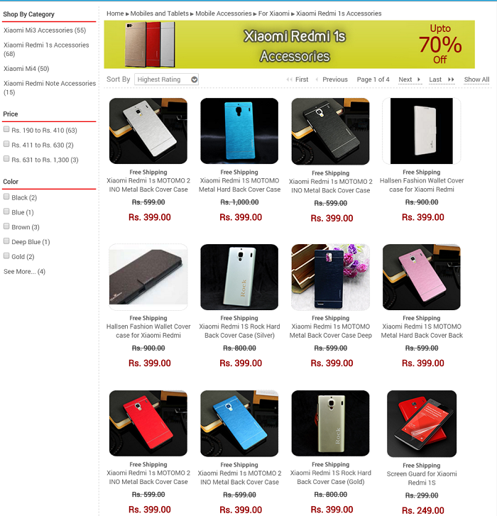 Redmi 1S Accessories latestone.com