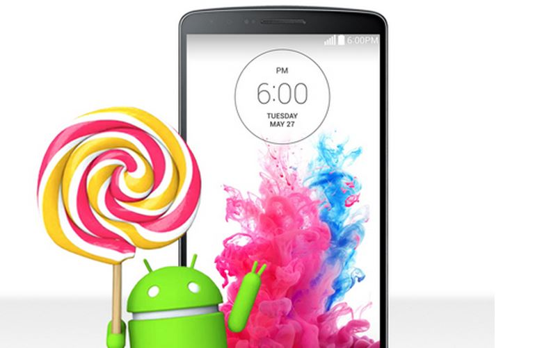 LG G3 gets Android 5.0 Lollipop update