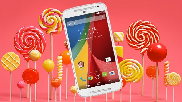 moto g Android 5.0 Lollipop