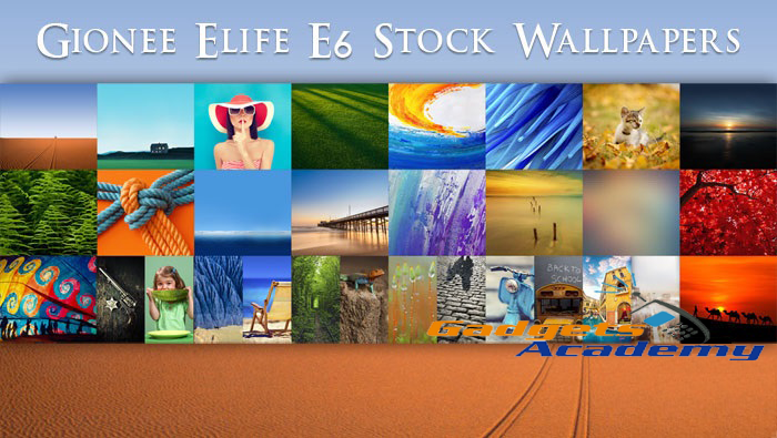 Gionee Elife E6 Stock Wallpapers