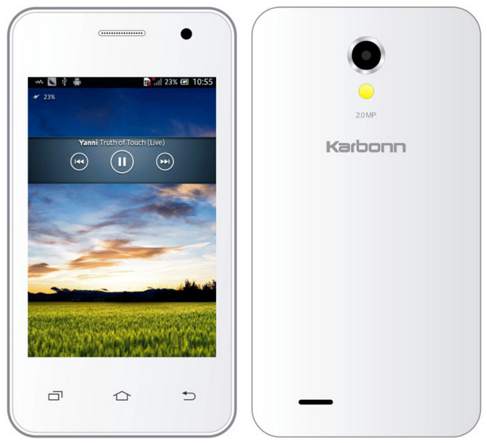 Screenshot on Karbonn Smart A50s, A52 Plus, A12 Star & A11 Star