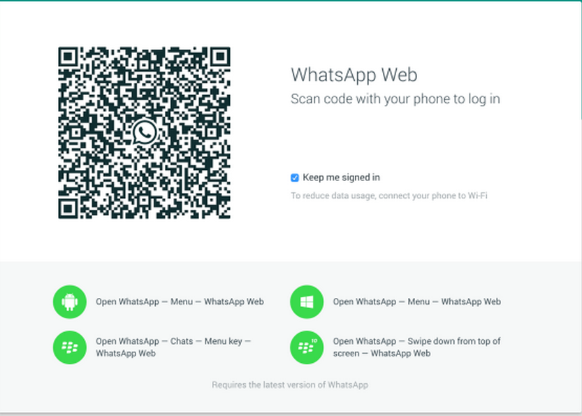 How to Setup WhatsApp Web with WhatsApp Android App- WhatsApp PC