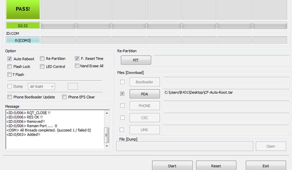 Galaxy tab 4 root odin 1