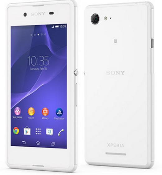 Sony Xperia E3 LTE 1