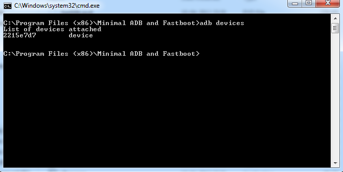 ADB and Fastboot CWM 1