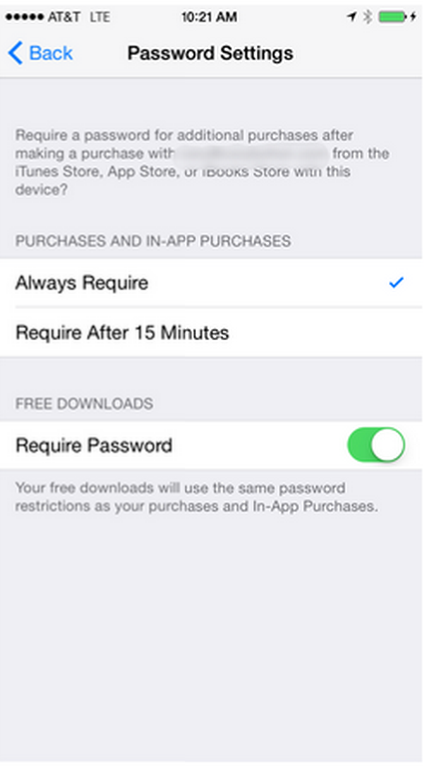 Download Free Apps without Password on iPhone/iPad