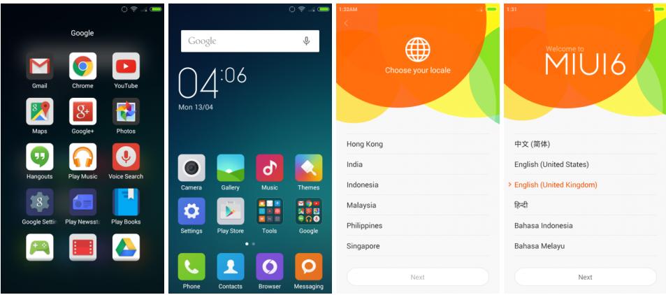 Xiaomi Redmi 1S MIUI 6 public beta