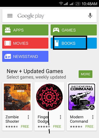 Google Play Books 1