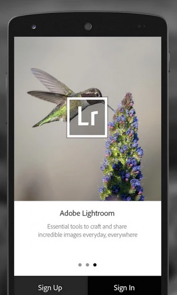 Adobe Lightroom Mobile v1 2 APK for Android- Free Download