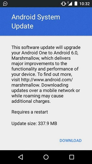 Cherry Mobile One and MyPhone Uno marshmallow update