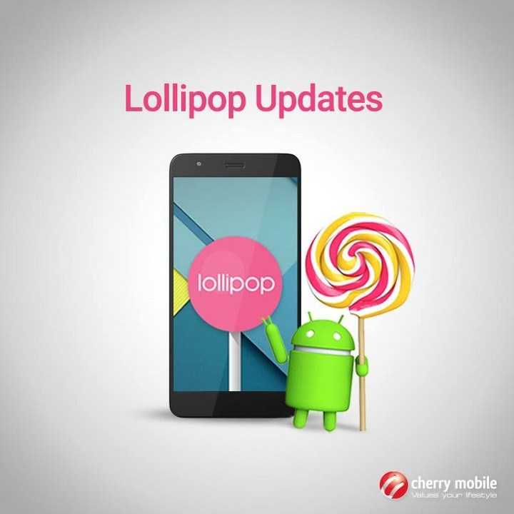 cherry mobiles Android Lollipop update