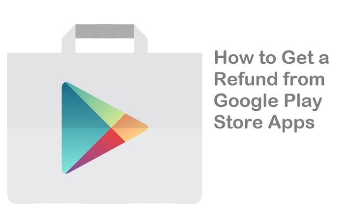 Google Play Store refund