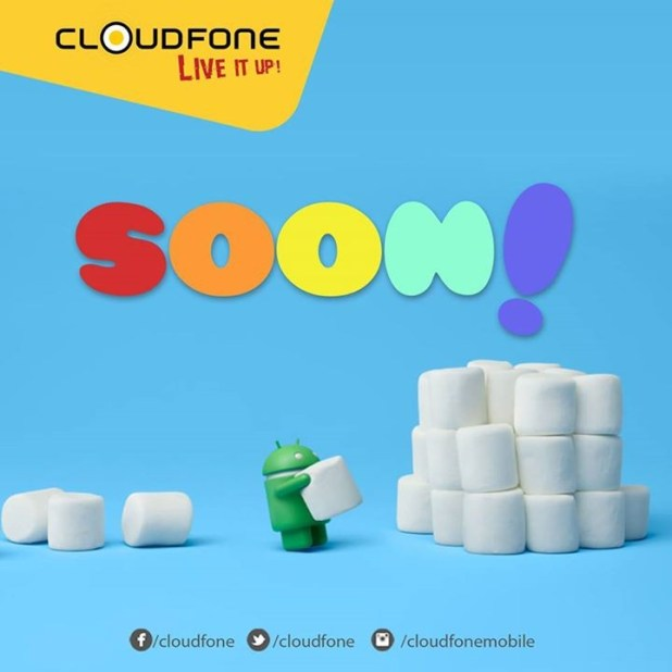 cloudfone Android 6.0 marshmallow