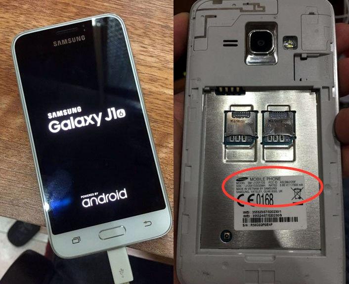 Samsung Galaxy J 2016 SM-J120F-leak