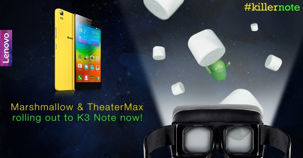 Lenovo K3 Note Android 6.0 Marshmallow update