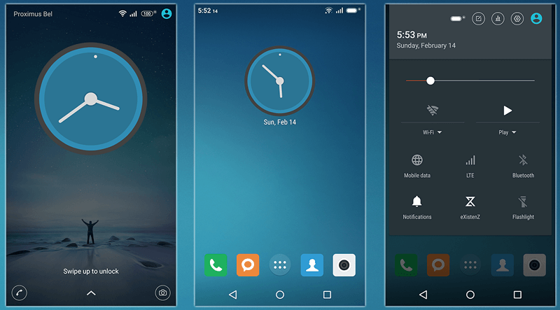 Xperia MIUI v7 Theme download